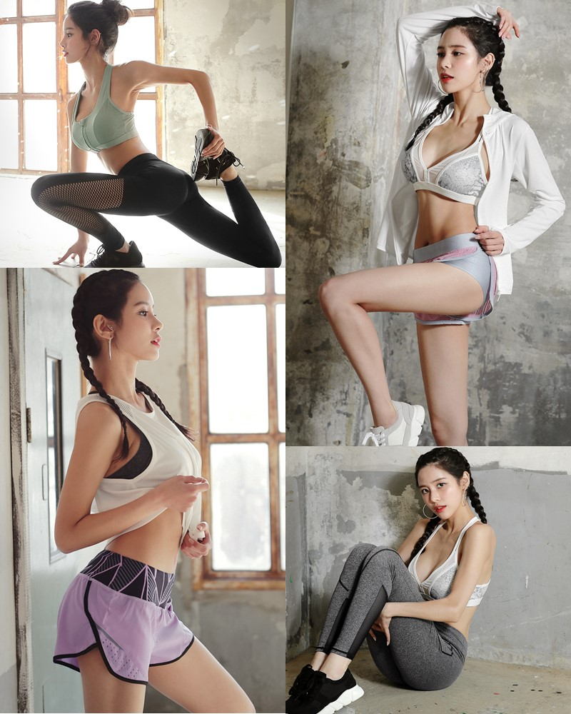 Image-Korean-Fashion-Model-Ju-Woo-Fitness-Set-Collection-TruePic.net