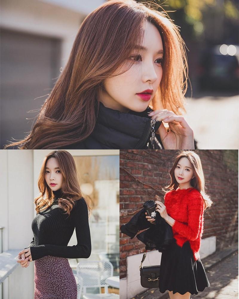Image-Korean-Fashion-Model-Park-Soo-Yeon-Beautiful-Winter-Dress-Collection-TruePic.net