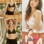 Image-Park-Soo-Yeon-Black-Red-and-White-Lingerie-Korean-Model-Fashion-TruePic.net