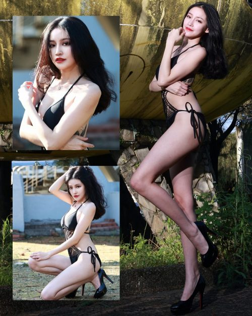 Image-Taiwanese-Model-艾薉-Long-Legs-And-Lovely-Bikini-Girl-TruePic.net