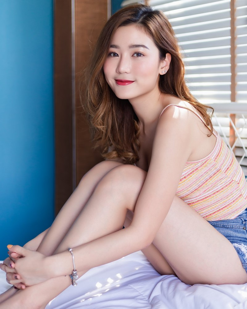 Image-Thailand-Beautiful-Girl-Pattaravadee-Boonmeesup-Social-Isolation-Day-TruePic.net