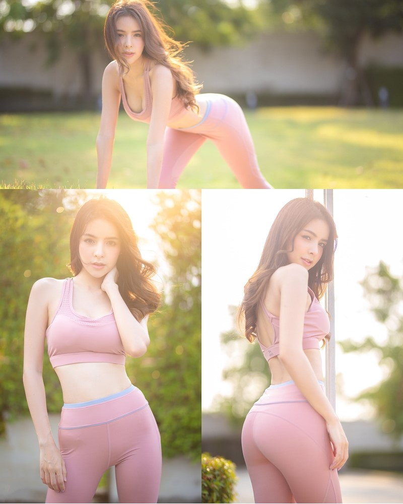 Image-Thailand-Beautiful-Model-Soithip-Palwongpaisal-Pink-Fitness-Girl-TruePic.net