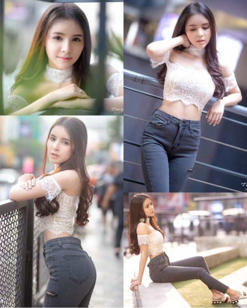 Image-Thailand-Beautiful-Model-Soithip-Palwongpaisal-Transparent-Lace-Crop-Top-And-Jean-TruePic.net