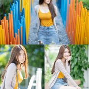 Image-Thailand-Cute-Model-Creammy-Chanama-Beautiful-Angel-In-Flower-Garden-TruePic.net