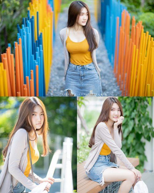 Image-Thailand-Cute-Model-Creammy-Chanama-Beautiful-Angel-In-Flower-Garden-TruePic.net