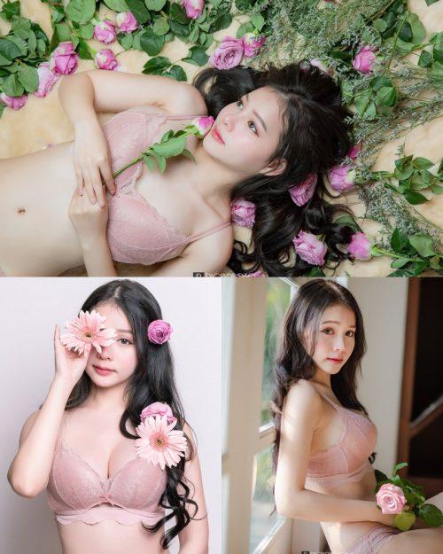 Image-Thailand-Cute-Model-Tuktick-Ponthip-Tantisuwanna-Girl-On-Flower-TruePic.net