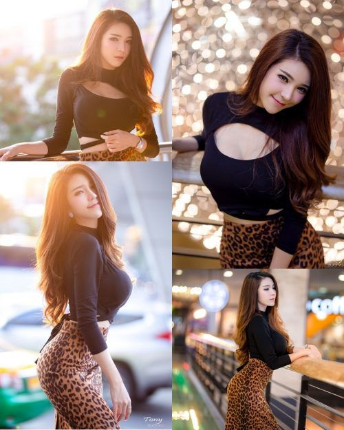 Image-Thailand-Hot-Model-Janet-Kanokwan-Saesim-Sexy-In-Black-And-Leopard-Fabric-TruePic.net