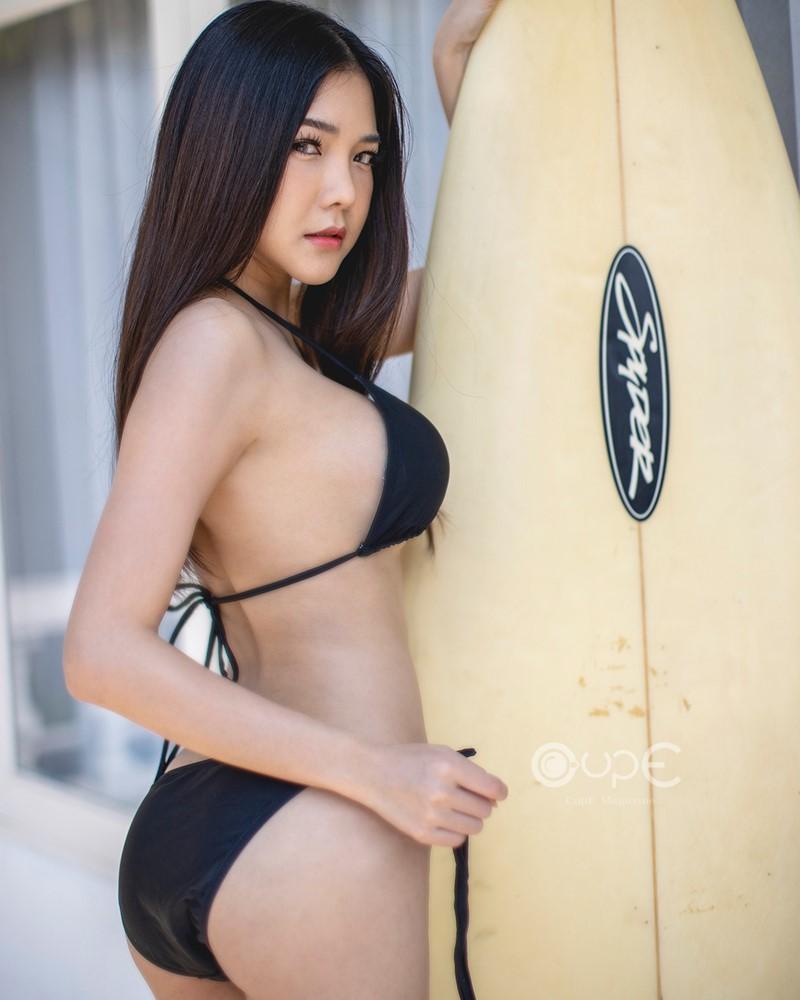 Image-Thailand-Model-Phitchamol-Srijantanet-Black-Bikini-TruePic.net