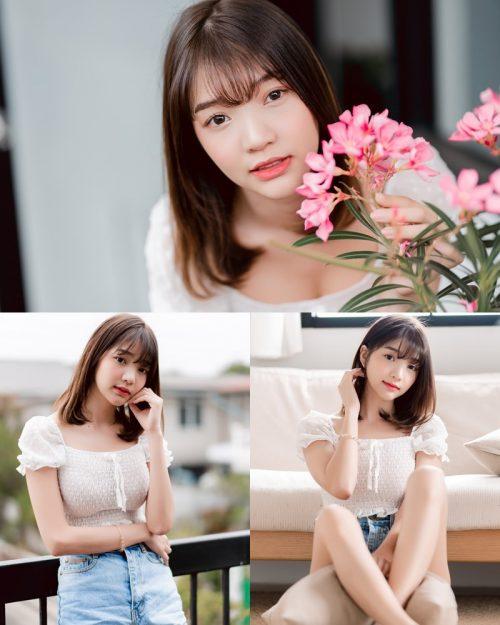 Image-Thailand-Pretty-Model-Anun-Sasinun-Porcelain-Flower-Branches-TruePic.net