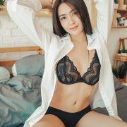 Image Thailand Sexy Model – Baifern Rinrucha Kamnark – Black Lingerie - TruePic.net