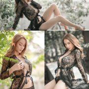 Image Thailand Sexy Model - Soraya Upaiprom - Black Lace Lingerie - TruePic.net