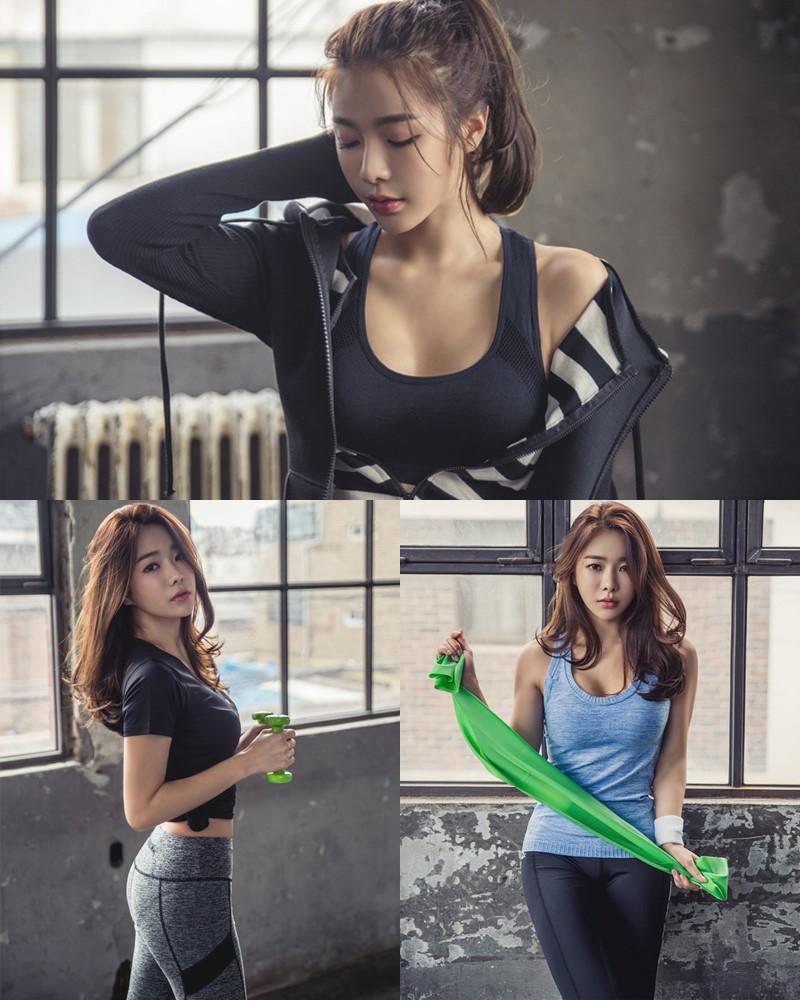 Korean Beautiful Model – An Seo Rin – Fitness Fashion Photography #2 - TruePic.net