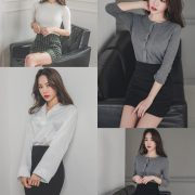 Image Korean Fashion Model - An Seo Rin - Office Dress Collection - TruePic.net
