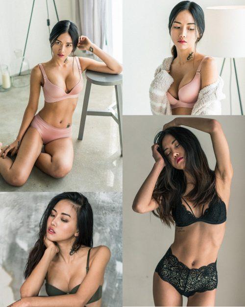 Korean Fashion Model – Baek Ye Jin – Sexy Lingerie Collection #5 - TruePic.net