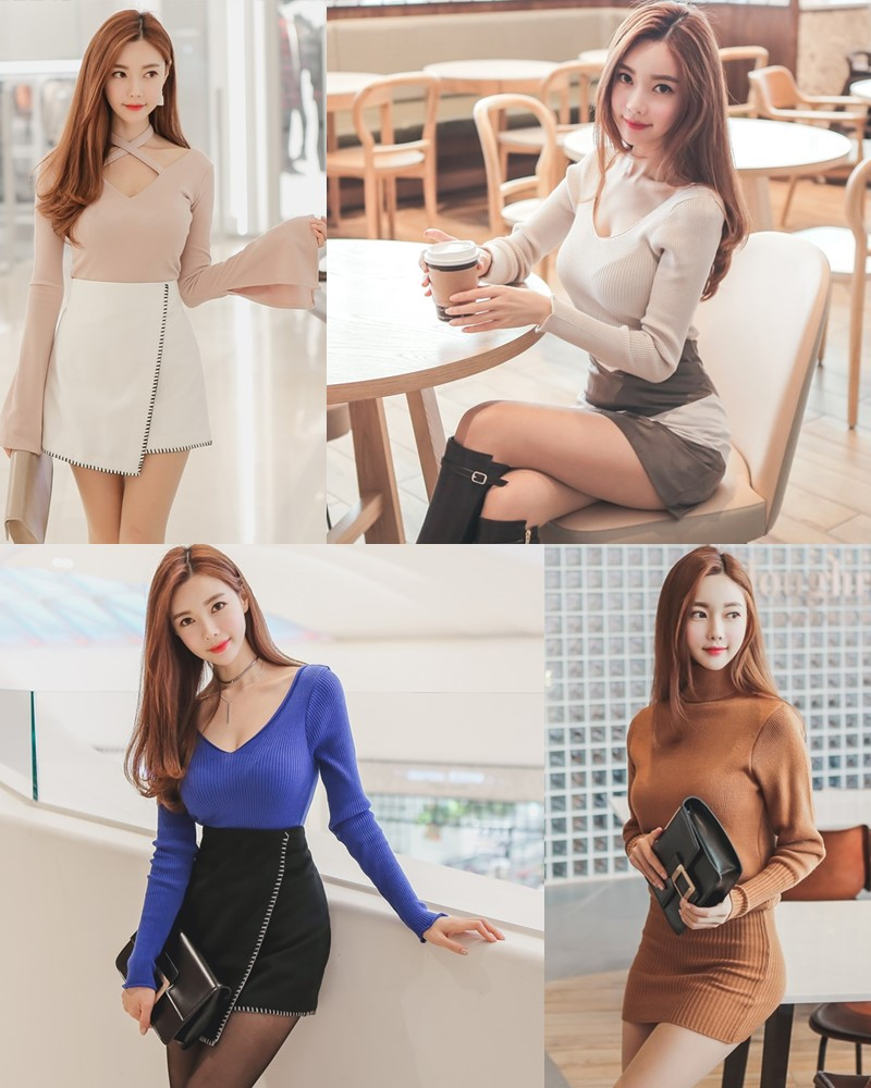 Korean Fashion Model – Hyemi – Office Dress Collection #2 - TruePic.net