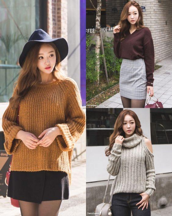 Korean Fashion Model - Ji Hyun - Casual Outdoor Collection - TruePic.net