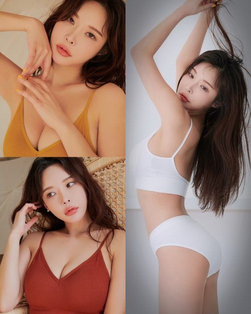 Image Korean Fashion Model - Lee A Yoon - Good Night Top Bra - TruePic.net