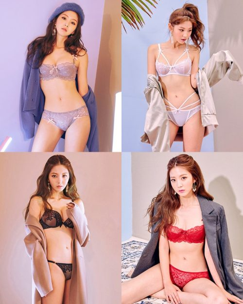Korean Fashion Model - Lee Chae Eun - SaLon De Lingerie Collection - TruePic.net
