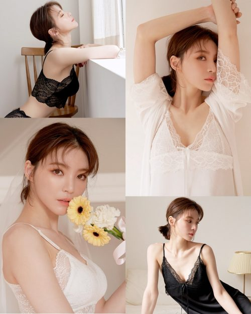 Korean Fashion Model Lee Ho Sin - Lingerie Wedding Pure - TruePic.net