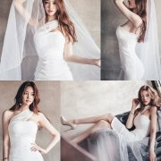 Image Korean Fashion Model - Park Jung Yoon - Wedding Dress Set - TruePic.net
