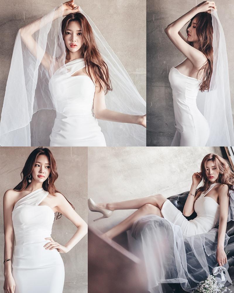 Image Korean Fashion Model - Park Jung Yoon - Wedding Dress Set - TruePic.net