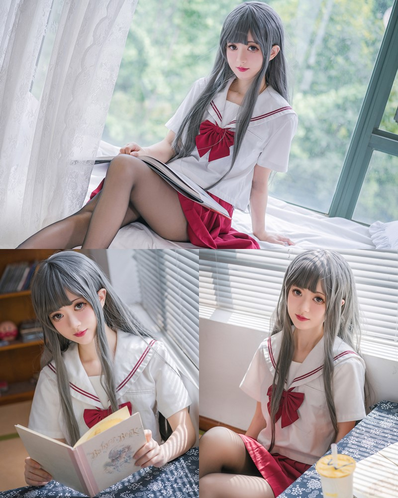 MTCos 喵糖映画 Vol.017 – Chinese Cute Model – White Haired Witch - TruePic.net
