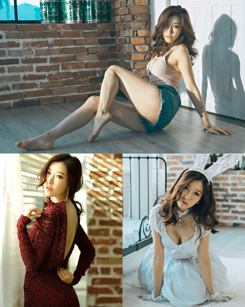 Oh Ha Ru Model Beautiful Image - Studio Photoshoot Collection - TruePic.net