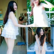 Image Thailand Model - Cholticha Intapuang - Sunsight on Backyard - TruePic.net