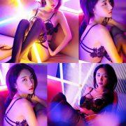 Image Thailand Model - Piyatida Rotjutharak - Neon Vibe - TruePic.net
