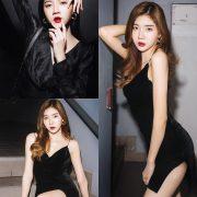 Thailand Model - Sasi Ngiunwan - Black For SiamNight - TruePic.net