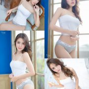 Thailand Model - Soithip Palwongpaisal - Jennie White Sexy Concept - TruePic.net