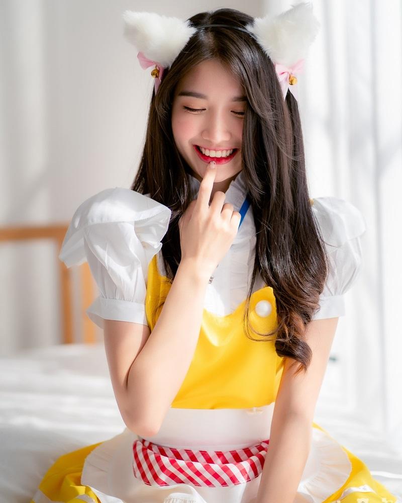 Thailand Model - Yatawee Limsiripothong - Cute Maid - TruePic.net