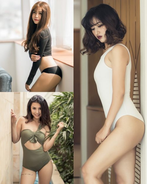 Vietnamese Beauties With Lingerie and Bikini – Photo by Le Blanc Studio #11 - TruePic.net