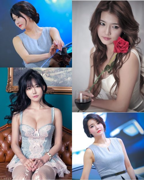 Best Beautiful Images Of Korean Racing Queen Han Ga Eun #3 - TruePic.net