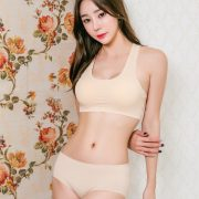 Hyun Kyung - Korean Fashion Model - Nude Color Undies - TruePic.net
