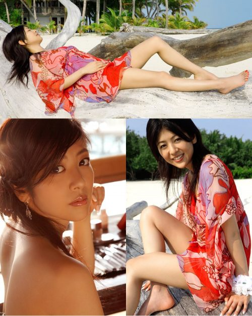 Japanese Actress - Miho Shiraishi - Heavens Door Photo Album - TruePic.net