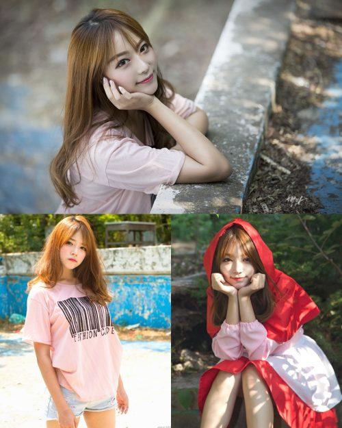 Korean Cute Model - Ji Yeon - You Can Follow Me - TruePic.net