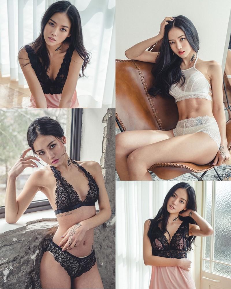 Korean Fashion Model – Baek Ye Jin – Sexy Lingerie Collection #6 - TruePic.net