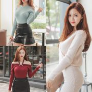 Korean Fashion Model – Hyemi – Office Dress Collection #3 - TruePic.net
