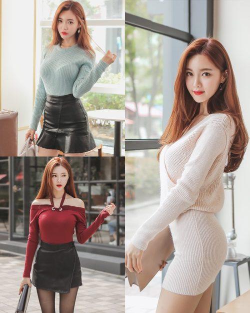 Korean Fashion Model – Hyemi – Office Dress Collection #3 - TruePic.net
