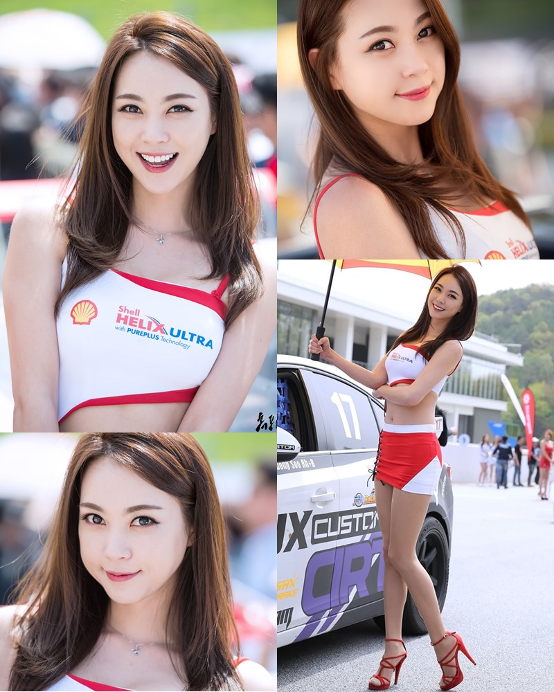 Korean Model - Ju Da Ha - Racing Queen Super Race Round 1 - TruePic.net