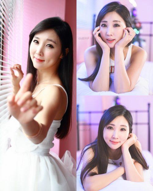 Korean Model - Lee Yoo Eun - Studio Photo Collection - TruePic.net