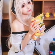 [MTCos] 喵糖映画 Vol.024 – Chinese Model – Combination of Pepsi and Potato Chips - TruePic.net