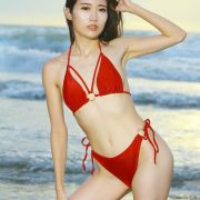 Taiwanese Model - Kuma - Beautiful Sexy Bikini Girl Under Sunset - TruePic.net