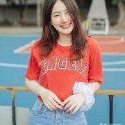 Thailand Cute Model - Fahfab Thunchanok - Red Angels - TruePic.net