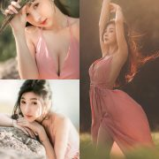 Thailand Model - Pattamaporn Keawkum - Beautiful Dream In Pink - TruePic.net
