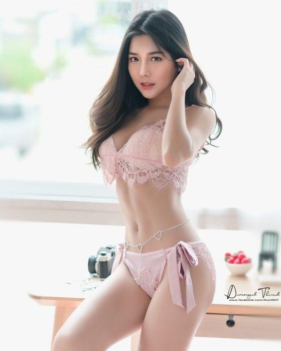 Thailand Model - Phitchamol Srijantanet - Beautiful Angel and Lingerie - TruePic.net
