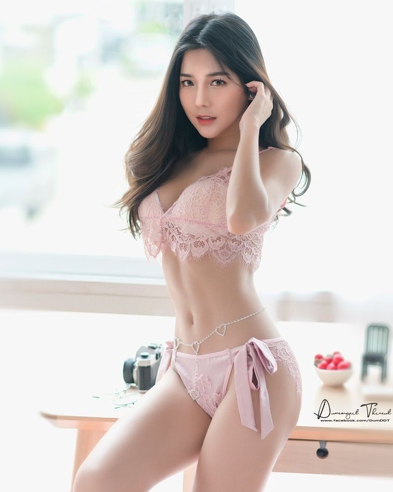 Thailand Model - Phitchamol Srijantanet - Beautiful Angel and Lingerie - TruePic.net