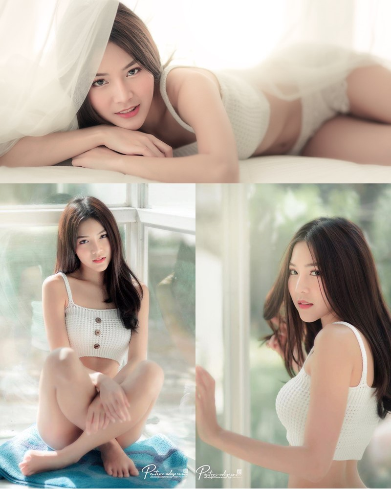 Thailand Model - Phitchamol Srijantanet - Morning Green - TruePic.net