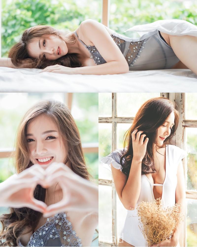 Thailand Model - Rossarin Klinhom - Momokini On The Bed - TruePic.net